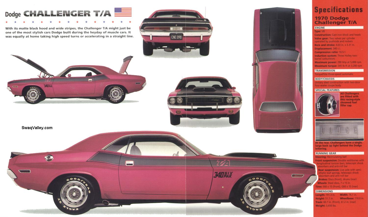catalogo completo colores 1970 challenger t a 340 six pack foros dodge tech. Black Bedroom Furniture Sets. Home Design Ideas