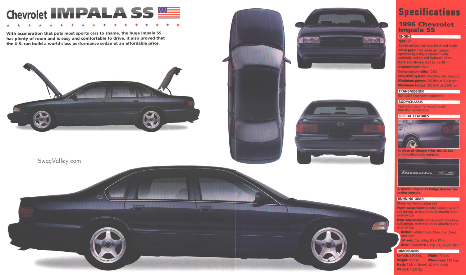 Impala 1990 chevrolet impala : Buyers Guide 1994-1996 Impala SS - Random Car Showcase - Cheers ...